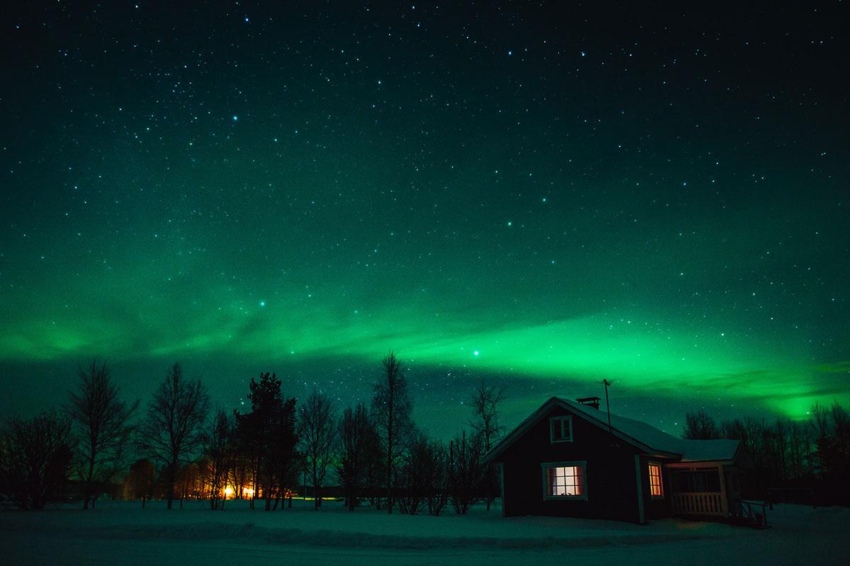 Aurora Boreale in Lapponia – Intervista Telecor